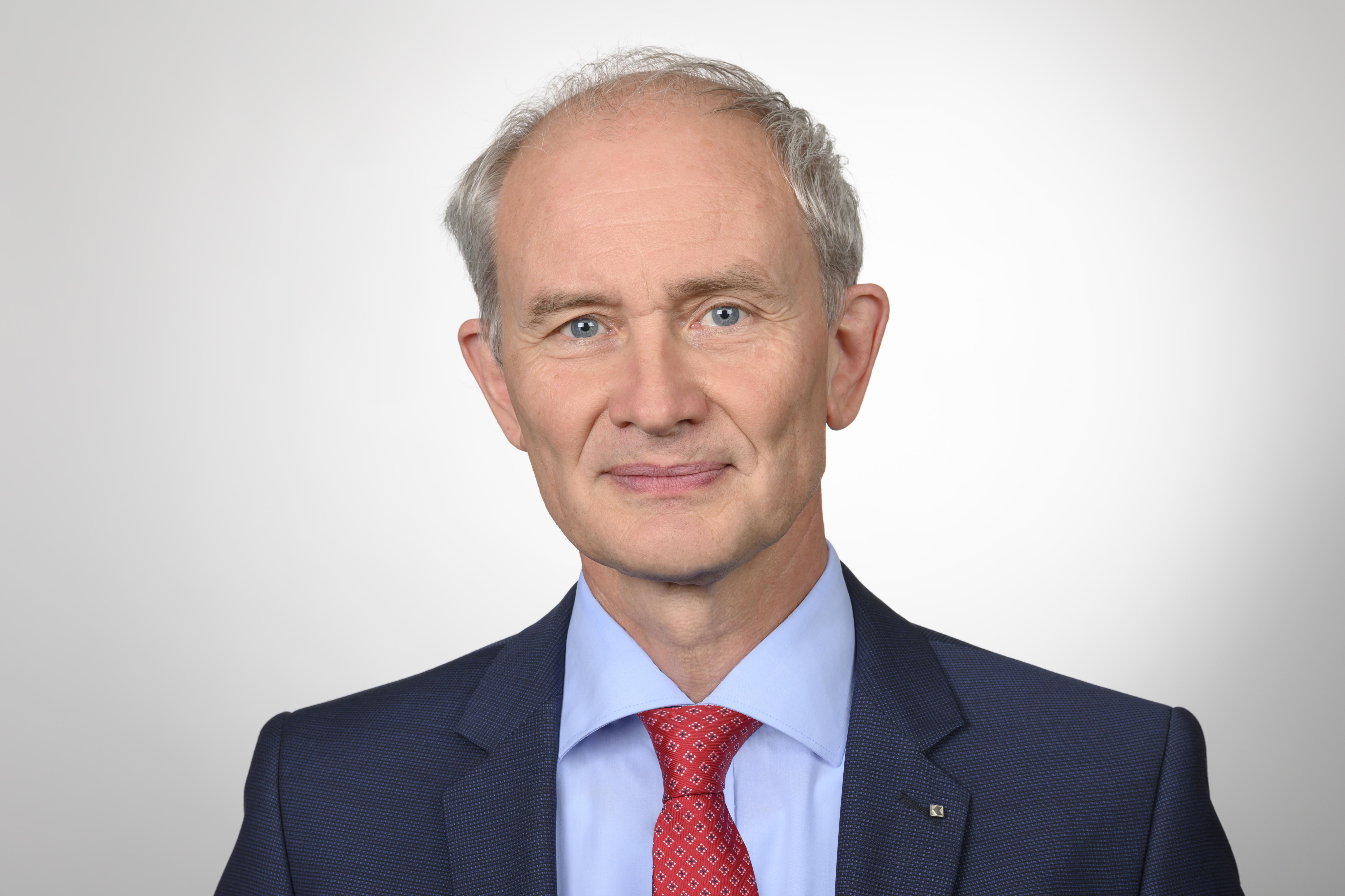 Prof. Dr. Urs Müller, Président de l'Union des Banques Cantonales Suisses (UBCS)