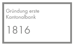 Gründungsjahr erste Kantonalbank